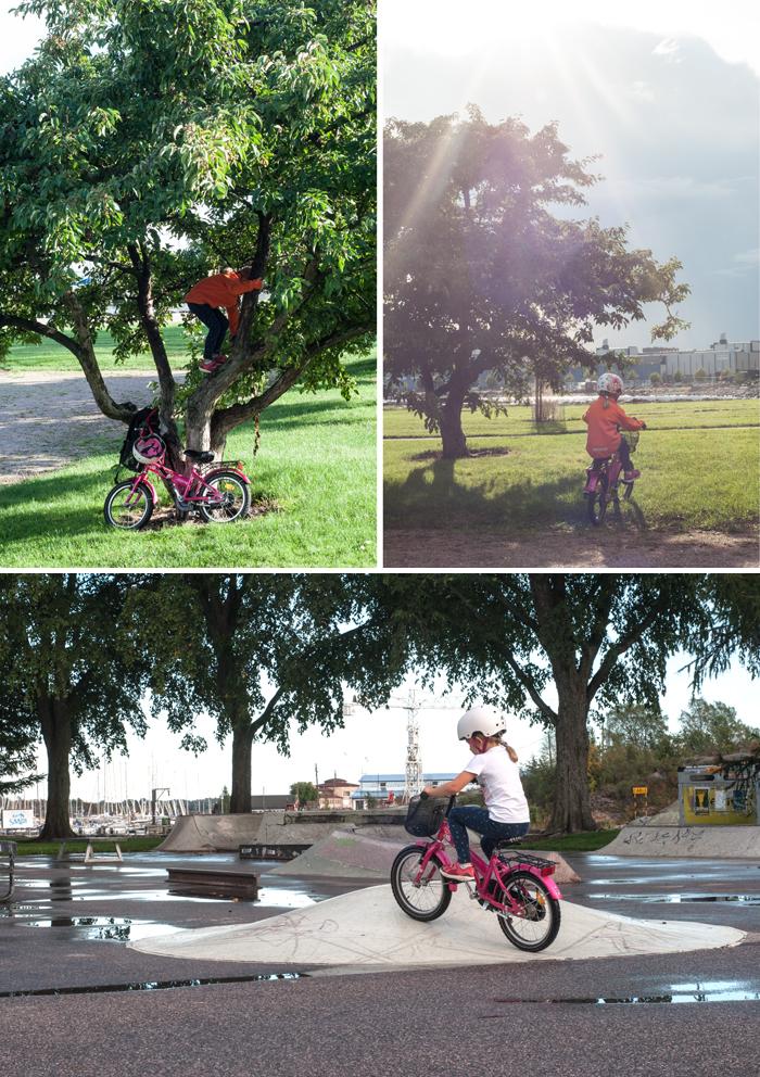 cykelflickan